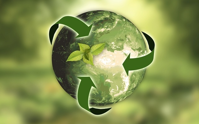 Recycle, return and reuse plastics